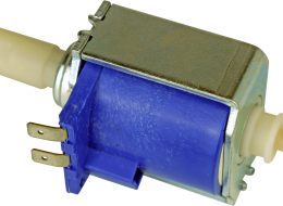 Solenoid water pumps